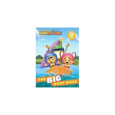 The Big Boat Race! ( Team Umizoomi) (Paperback) by Golden Books Publishing Company - image 1 of 1