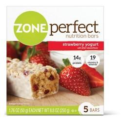Zone Perfect Nutrition Bar Strawberry Yogurt - 1.76oz(5pk)
