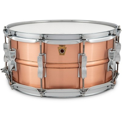 Ludwig Acro Brass Snare Drum 14 x 6.5 in.