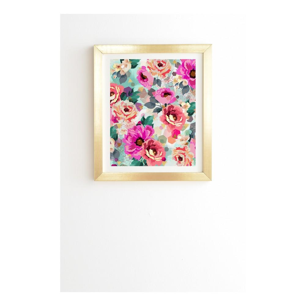 Marta Barragan Camarasa Abstract Geometrical Flowers Framed Wall Art 19