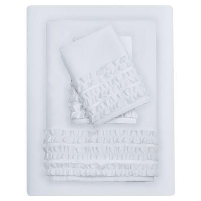 6pc Sheet Sets White King