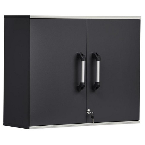 Chief Wall Cabinet Steel Gray - Room & Joy - image 1 of 4