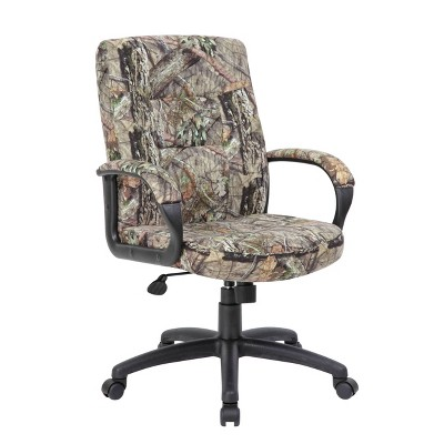 Executive Chair Mid Back Mossy Oak - Boss Office Products