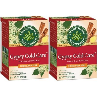 Tea Bags: Traditional Medicinals Gypsy Cold Care Tea Bags
