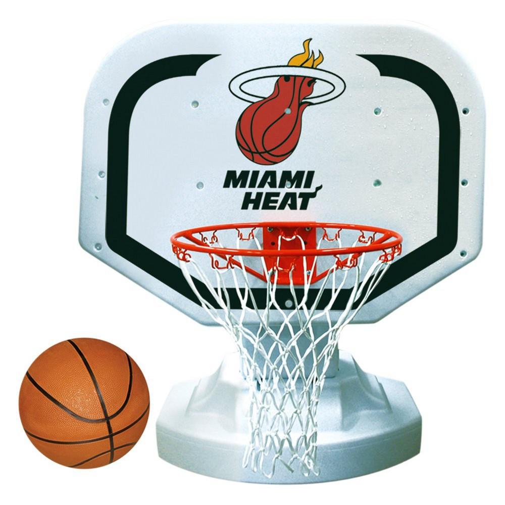 Poolmaster NBA Poolside Basketball Game - Miami Heat, Team Colors