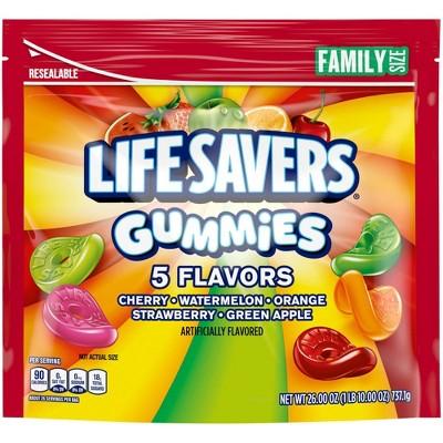 Lifesaver Gummies 5 Flavor Variety Family SUP - 26oz