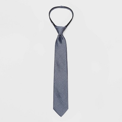 Boys' Chambray Tie - Cat & Jack™ Blue S/M