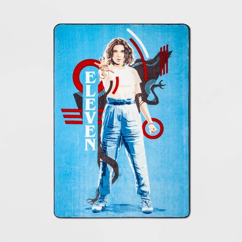 Stranger Things Twin Bed Blanket Red - image 1 of 1
