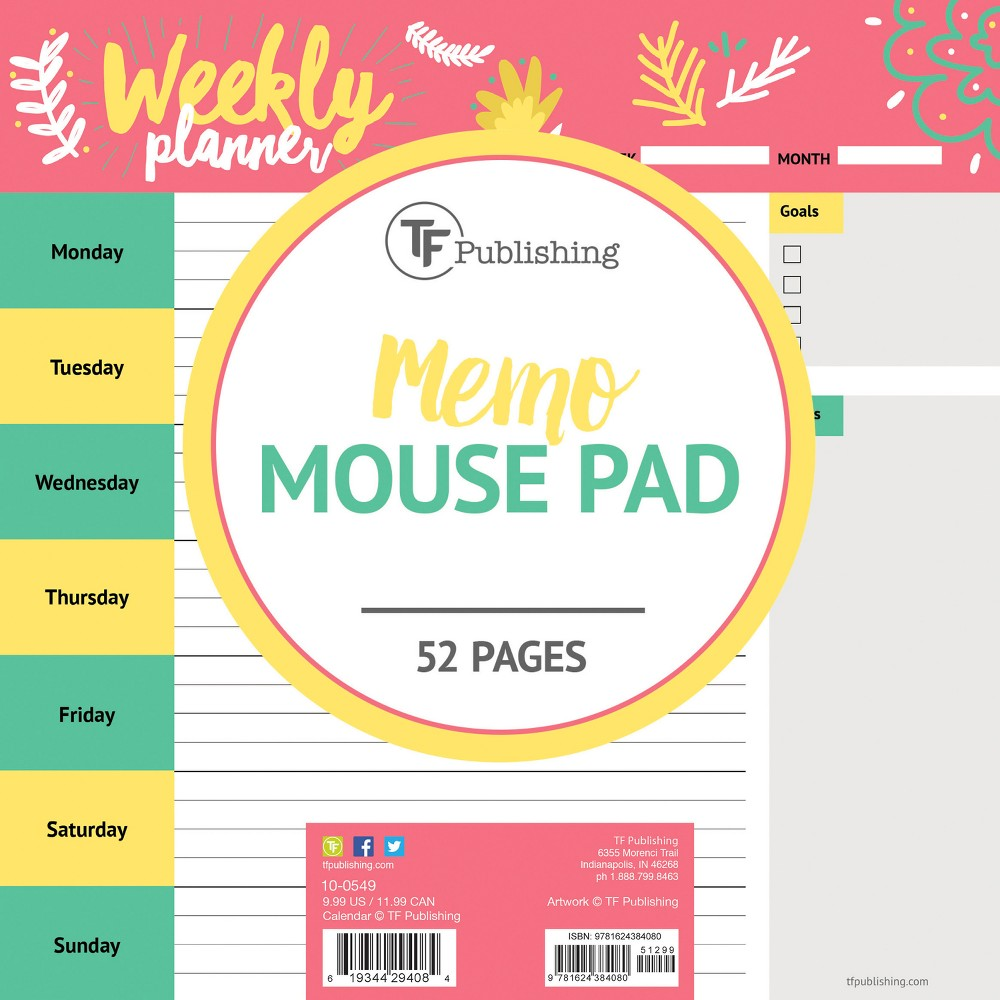 TF Publishing Memo Mouse Pad - Doodles