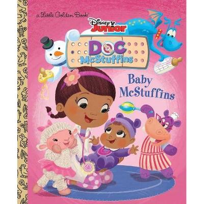 Baby McStuffins (Disney Junior: Doc McStuffins) - (Little Golden Book) by  Jennifer Liberts (Hardcover)