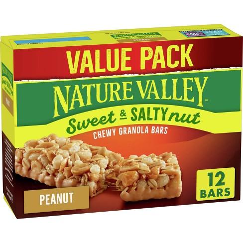 Nature Valley Sweet & Salty Nut Peanut Granola Bars - 1.2oz 12ct - image 1 of 3