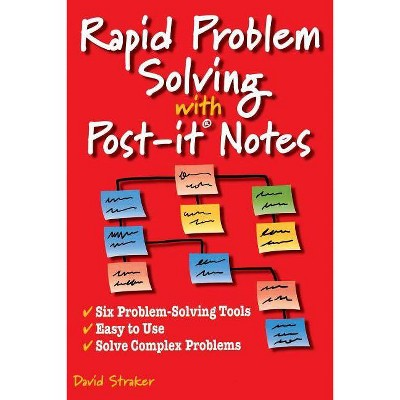 Rapid Problem Solving with Post-It Notes - by  David Straker (Paperback)