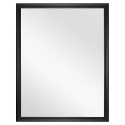 18 x23  Decorative Wall Mirror Black - Room Essentials™