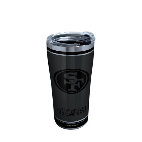 NFL San Francisco 49ers Tervis Stainless Tumbler Blackout - 20oz - image 1 of 2