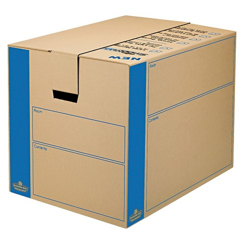 Bankers Box® SmoothMove Moving/Storage Box, Extra Strength, Large, 18w x 18d x 24h, Kraft - image 1 of 1