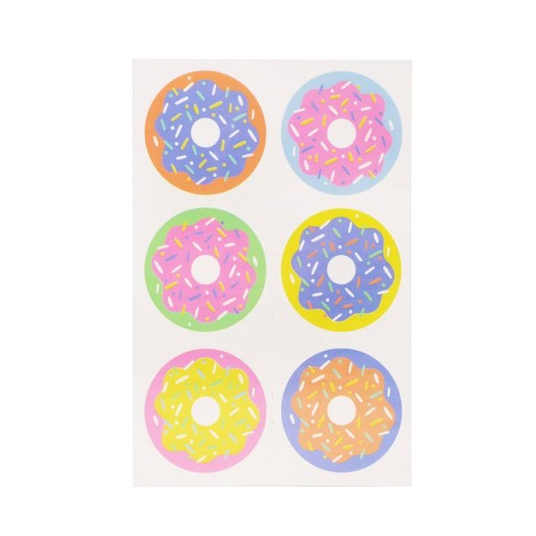 Donut Print Tatoos - Spritz™ - image 1 of 1