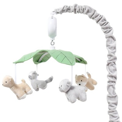 The Peanutshell Forest Woodland Animals Musical Mobile
