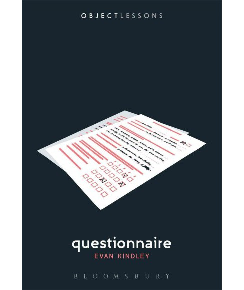 Questionnaire (Paperback) (Evan Kindley) - image 1 of 1