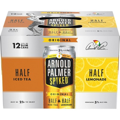 Arnold Palmer Spiked Half & Half Original Flavored Malt Beverage - 12pk/12 fl oz Cans