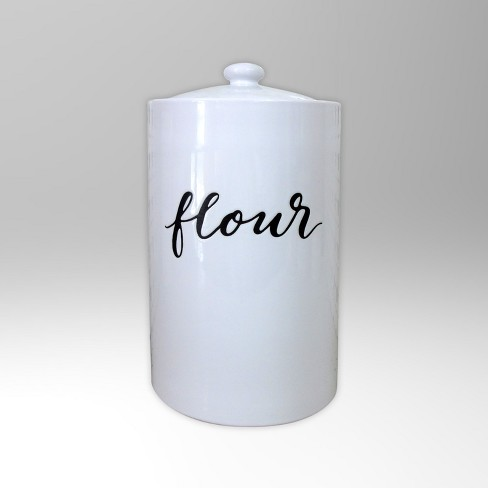 78oz Food Storage Canister White - Threshold™ - image 1 of 1