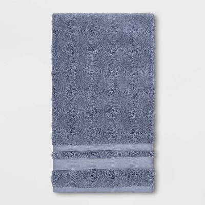Performance Bath Towel Solid Water Blue - Threshold™