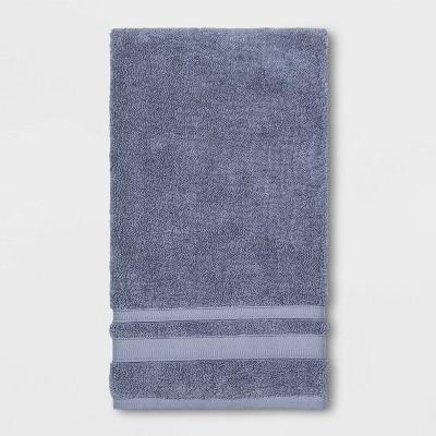 Bath Towel Solid Water Blue - Threshold™ Performance