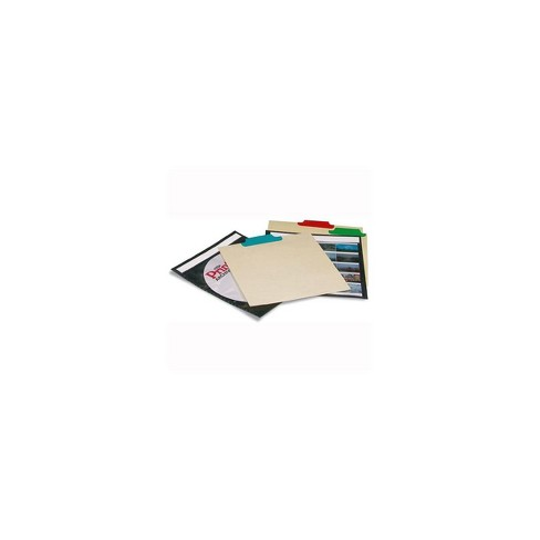 Print File CD Tabbed Divider Pages, Color Coded, Pack of 12. - image 1 of 1
