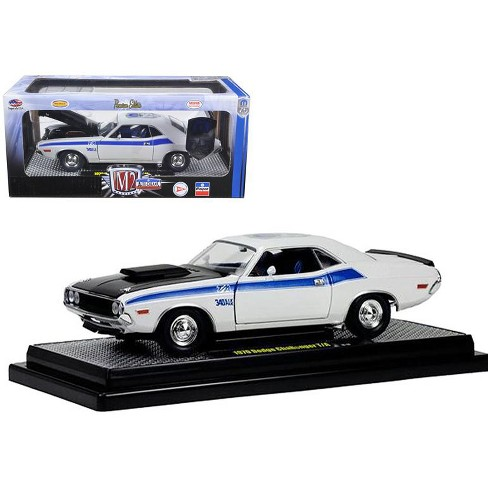 1970 Dodge Challenger T/A 340 Six Pack Pearl White 75th Mopar Anniversary 1/24 Diecast Model Car by M2 Machines - image 1 of 1