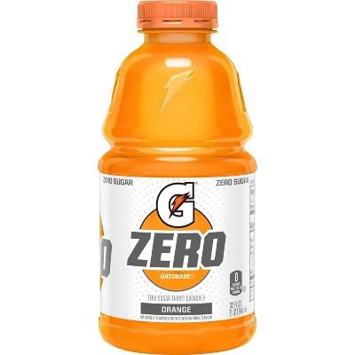 Gatorade G Zero Sugar Orange Sports Drink - 32 fl oz Bottle