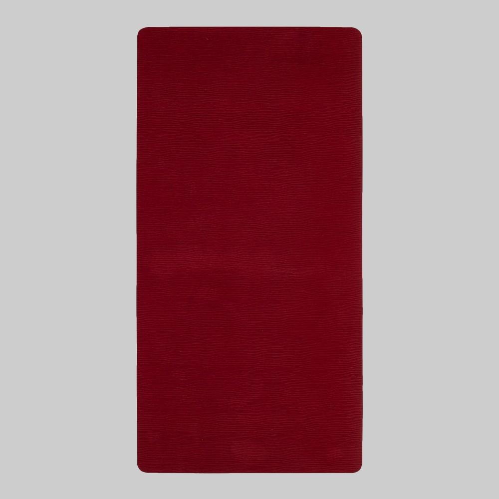 "Image of ""40""""x20"""" Comfort Kitchen Floor Mat Red - Threshold"""