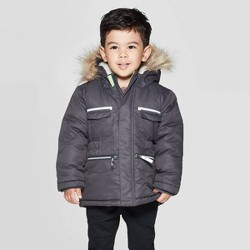 Toddler Boys' Long Parka - Cat & Jack™ Gray