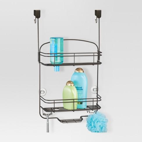 Over the Door Bathroom Shower Caddy Bronze - Threshold™ : Target