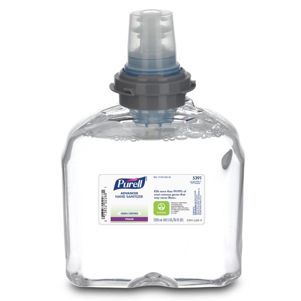 Purell Tfx Advanced Hand Sanitizer 1200ml Foam Refill - 40.5 fl oz