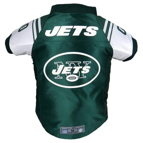 New York Jets Little Earth Pet Premium Football Jersey - Green S   Target 0df1547c8