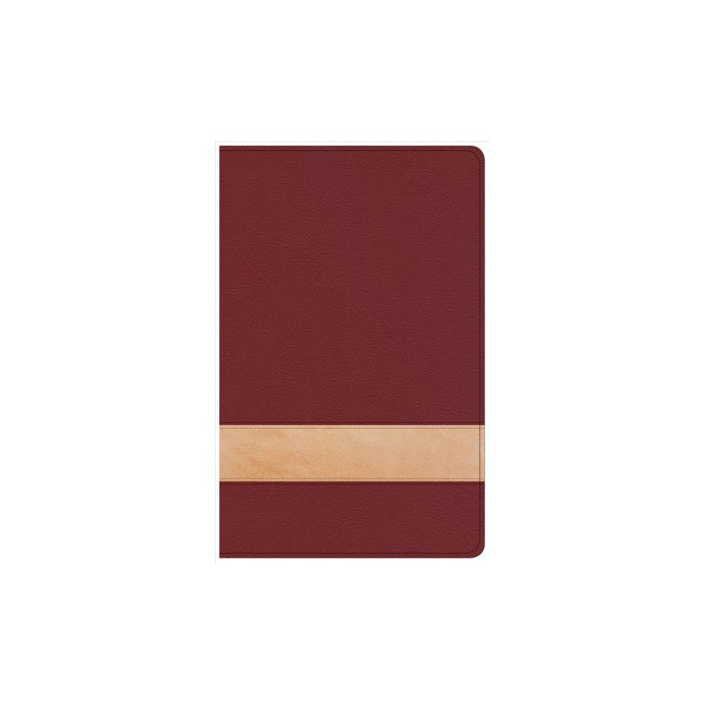 Holy Bible : Csb Personal Size Reference Bible, Crimson/Tan Leathertouch - Lrg (Paperback)