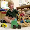 Melissa & Doug Car Carrier Truck and Cars Wooden Toy Set With 1 Truck and 4 Cars - image 4 of 4