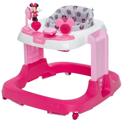 Disney Ready Set Walk DX Baby Walker - Minnie Gray Dots