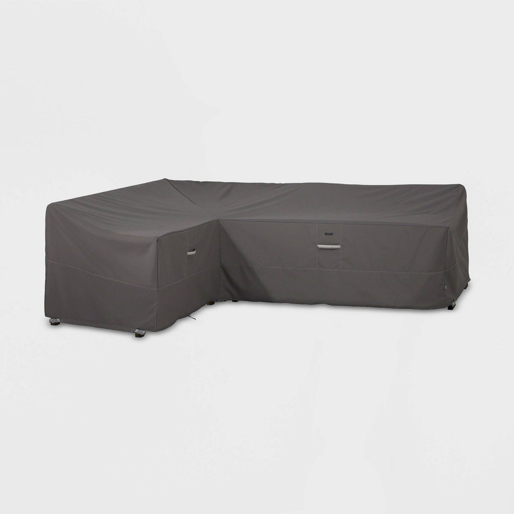 Image of Ravenna Left Sectional Cover Slate - Classic Accessories