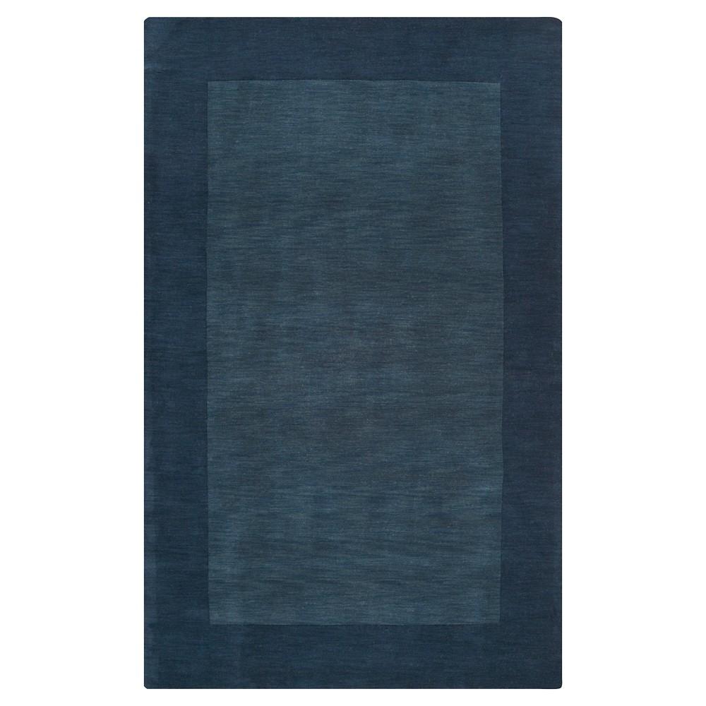 Navy (Blue) Solid Loomed Area Rug - (9'X13') - Surya