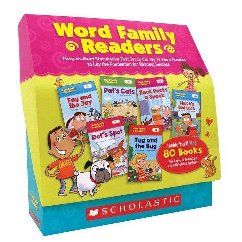 Word Family Readers Set - by  Liza Charlesworth (Paperback) - image 1 of 1