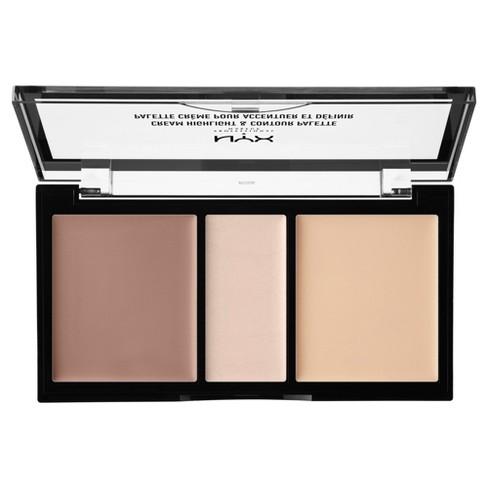 NYX Professional Makeup Cream Highlight & Contour Palette