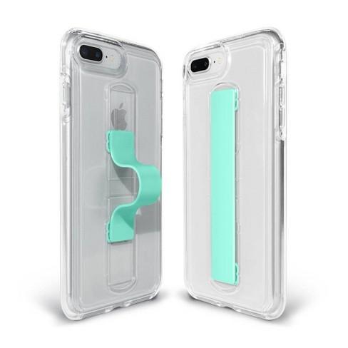 pretty nice 48199 166f4 BodyGuardz Apple iPhone 8 Plus/7 Plus/6s Plus/6 Plus SlideVue Case -  Clear/Mint