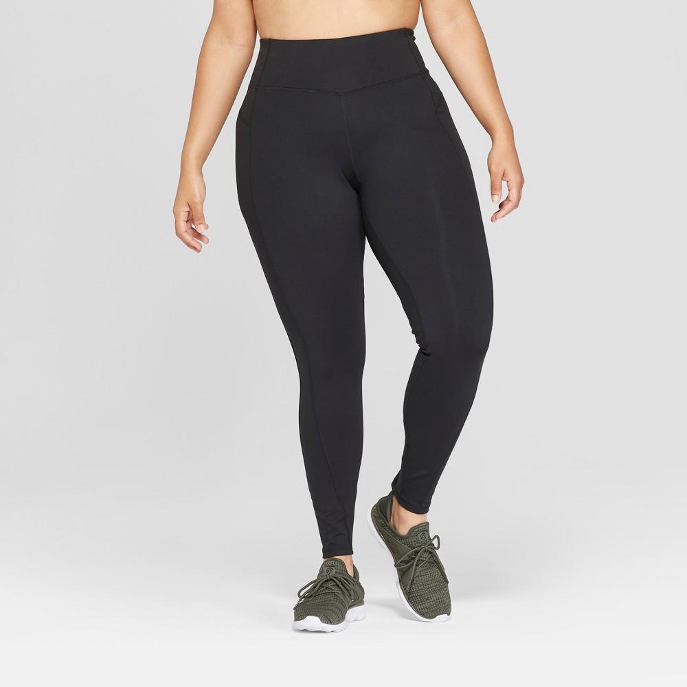 Women's Plus Size Urban Mid-Rise Leggings 28.5 - C9 Champion Black 2X