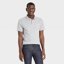 Mens Pocket Polo Shirts : Target