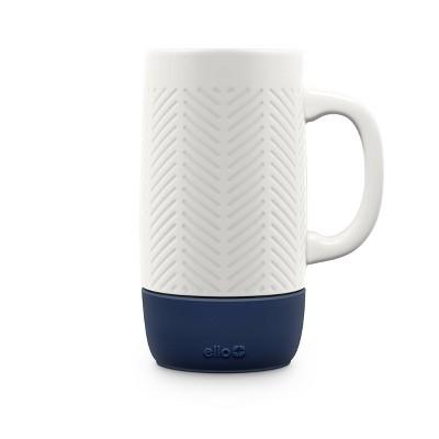 Ello 18oz Ceramic Jane Travel Mug Navy