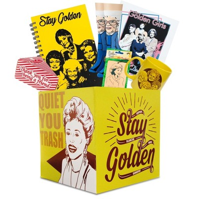 Toynk The Golden Girls Collectible Looksee Collector's Box | Mug | Print | Socks