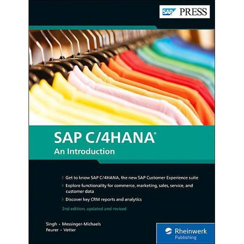 SAP C/4hana - 2 Edition by  Sanjjeev K Singh & Drew Messinger-Michaels & Sven Feurer & Thomas Vetter - image 1 of 1