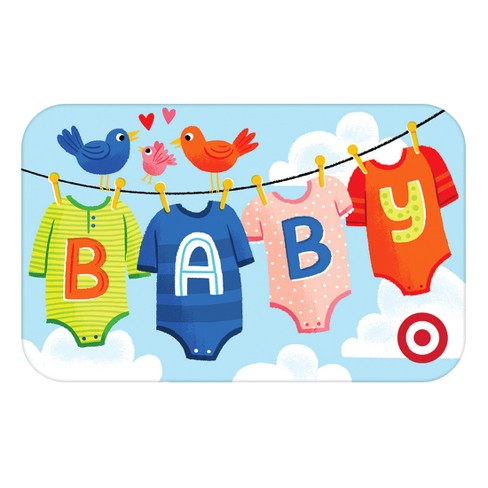 Baby Clothes Gift Card - image 1 of 1