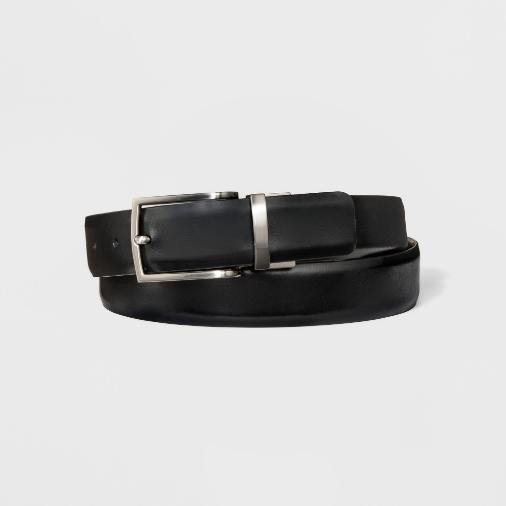 Men's 32mm Reversible Feather Edge Belt - Goodfellow & Co L, Multicolored