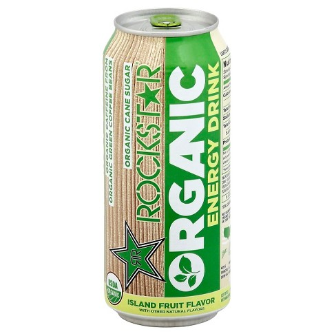 Rockstar Organic Energy Drink 16 Fl Oz Can Target